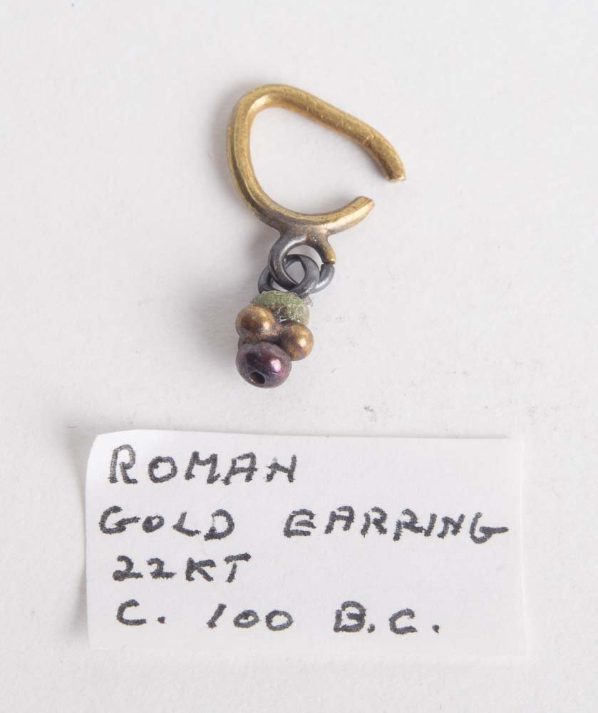 Ancient Roman Gold Single Earring c.1st century AD