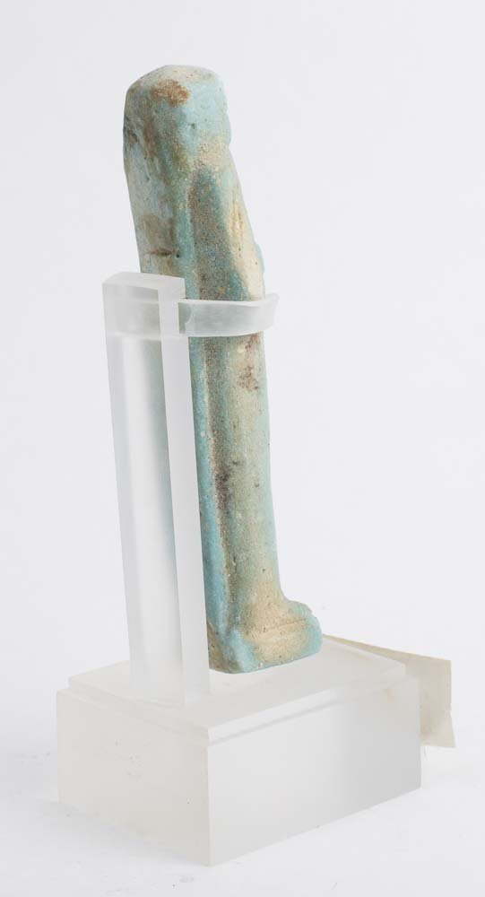Ancient Egyptian Blue Faience Ushabti c.600 BC - 2