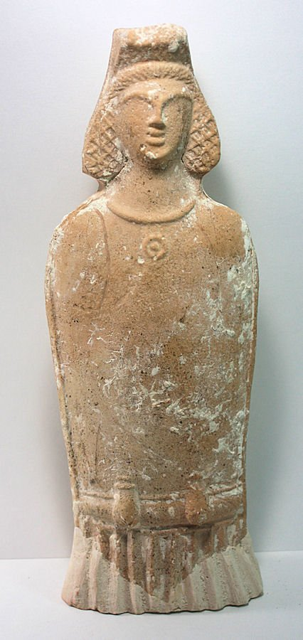 Ancient Beit Natif Pottery Fertility goddess, ca.4th CE