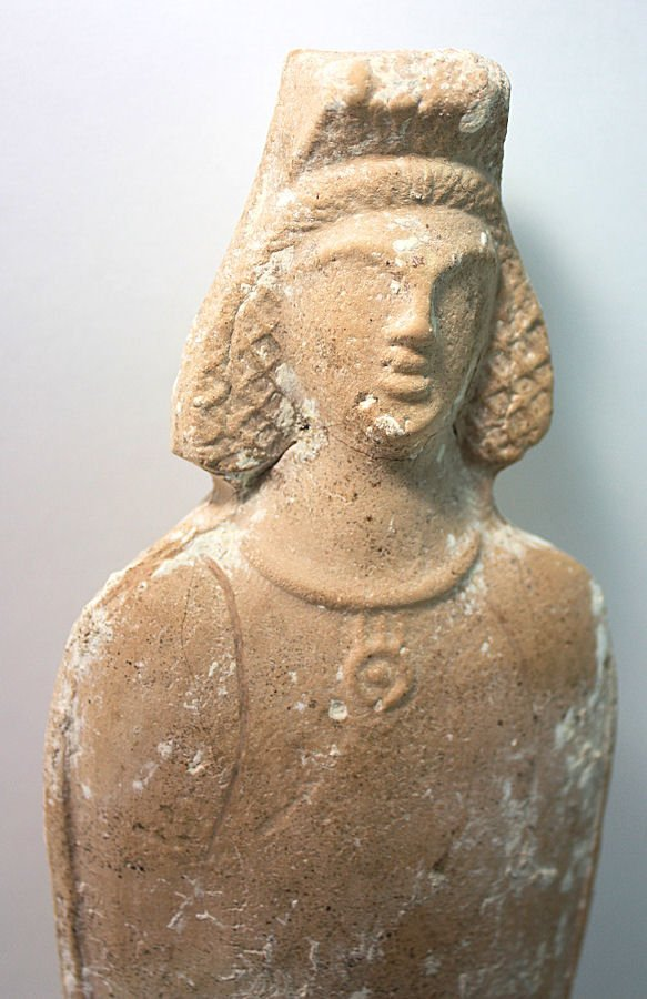 Ancient Beit Natif Pottery Fertility goddess, ca.4th CE - 3
