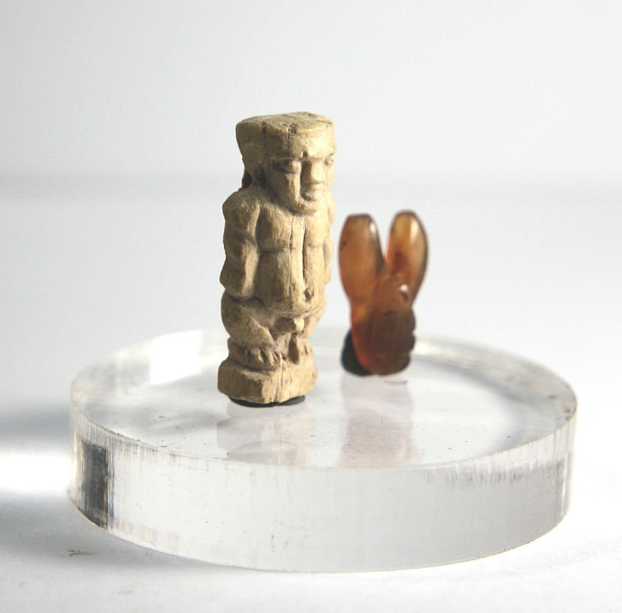 Ancient Egyptian Paitakos dwarf Amulet Late Period