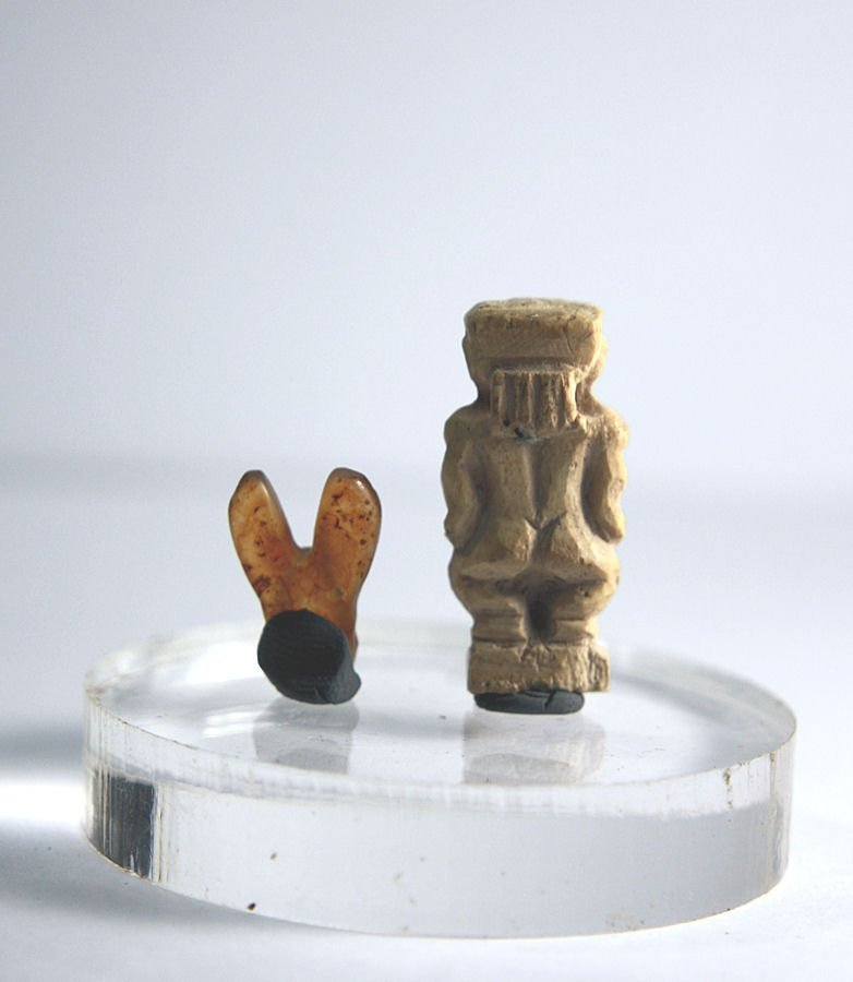 Ancient Egyptian Paitakos dwarf Amulet Late Period - 3
