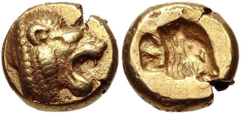 LESBOS, Mytilene. c.521-478 BC. EL Hekte – Sixth Stater