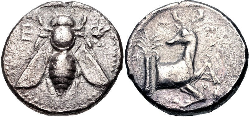 IONIA, Ephesos. Circa 390-325 BC. AR Tetradrachm (24.5m