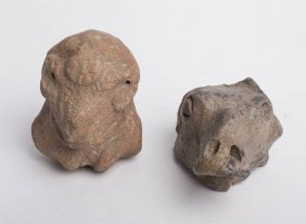 Lot of 2 Ancient Near Eastern Terracotta Animals c.600