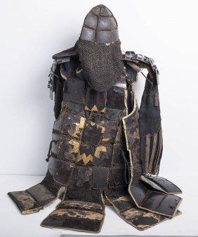 A Rare Antique Japanese Samurai Armor Date:17th Cent