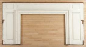 Lancaster, Pennsylvania painted pine paneled room