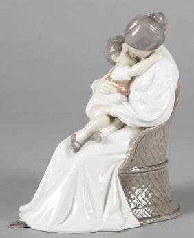 Bing and Grondahl porcelain figure of mother and
