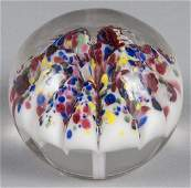 Millville New Jersey mushroom paperweight with