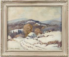 Ernest Fredericks (American 1877-1959), oil on ca