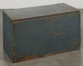 Pennsylvania painted blanket box, 19th c., retain