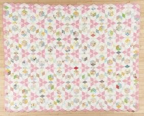 Three Pennsylvania patchwork quilts, 20th c., to