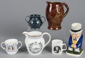 Group of British china and pottery of various sub