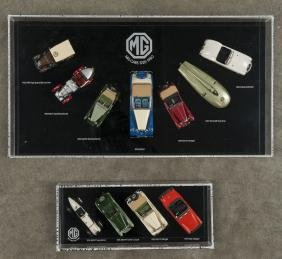 Cased collection of Classic Model Replicas MG 192