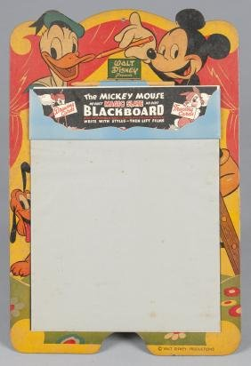 Mickey Mouse Magic Slate Blackboard, with remai