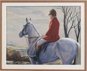 Phillip Sanders (British b. 1938), three watercol