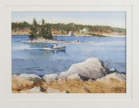 Frederick Kubitz (American 20th/21st), watercolor