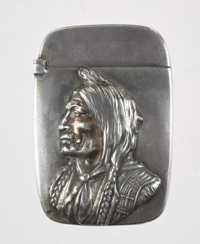 Sterling silver Native American Indian match vest