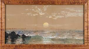 Edmund Darch Lewis (American 1835-1910), watercol