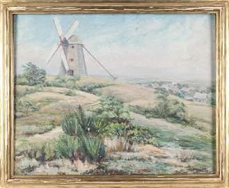 J. Winthrop Andrews (American 1879-1964), oil on