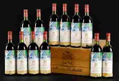 Chateau Mouton Rothschild 1982, 12 bottles