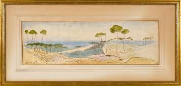 Edward Lear, landscape