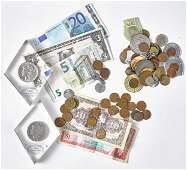 Morgan silver dollars, etc.