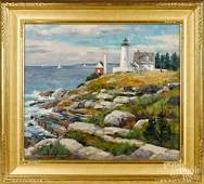 Donald Allen Mosher oil on canvas