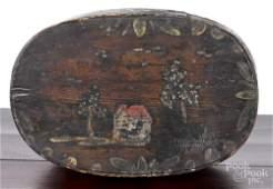 Berks County PA painted bentwood Bucher box