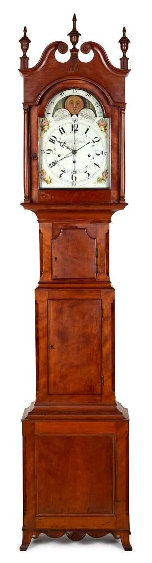 Martin Shreiner tall case clock