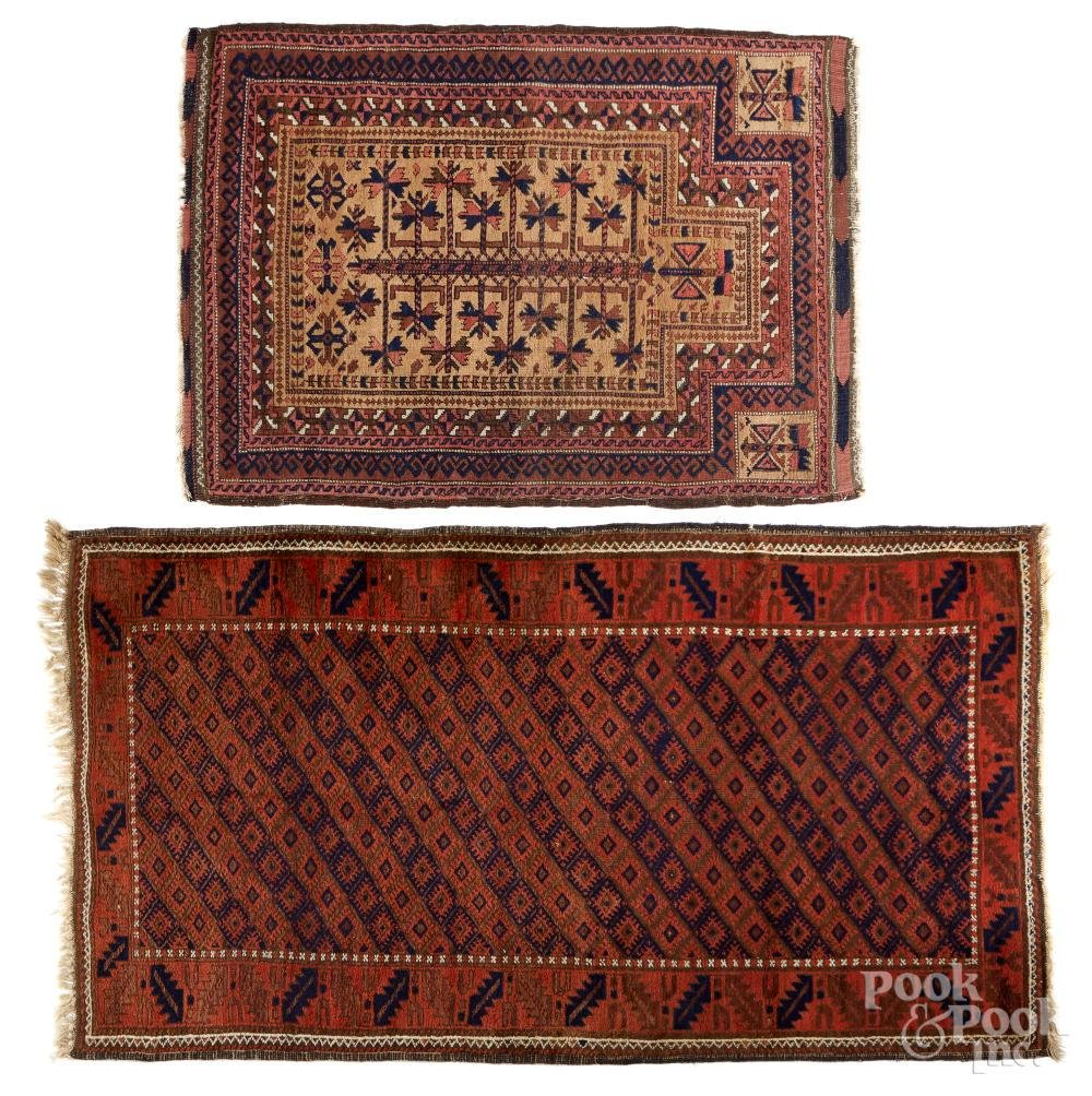 Two Beluch carpets