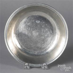 Philadelphia pewter basin