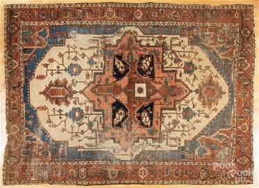 Serapi carpet.