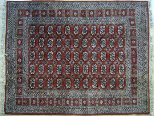 1: Roomsize Bokhara, 10' x 8' 2''.