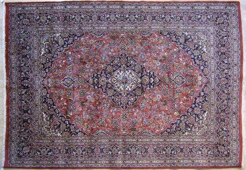 5B: Roomsize Persian rug, 10'10'' x 8'.