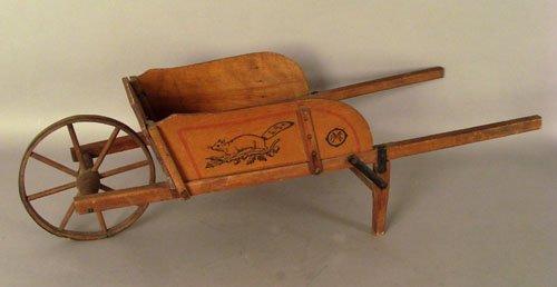 805: Child's wheelbarrow by Paris Mfg. Co., South Pari