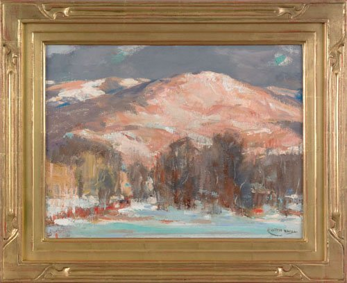 5: Jay Hall Connaway (American, 1893-1970), oil on