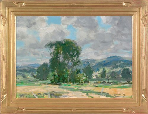 6: Jay Hall Connaway (American, 1893-1970), oil on