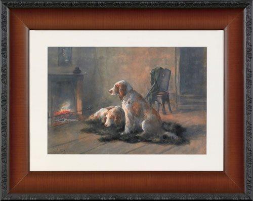 10: Hugo Anton Fisher (American, 1854-1916), waterc