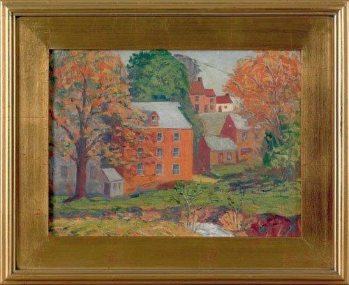 14: Dorothea McDowell (American, mid 20th c.), oil