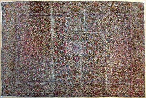 237: Kirman carpet, ca. 1930, 12' x 8'8''.