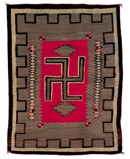 246: Navajo regional rug, ca. 1930, 86'' x 68''.