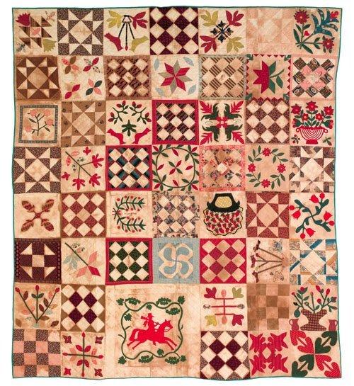 292: The Hollingsworth family Baltimore album quilt,