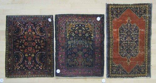4: Three oriental mats.