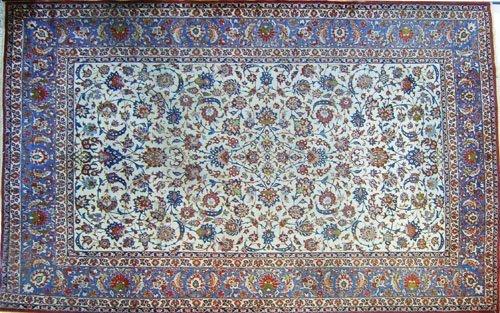 6: Roomsize Mahal rug, ca. 1960.