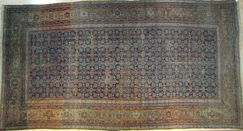 5A: Malayer carpet, ca. 1940 with overall floral desi