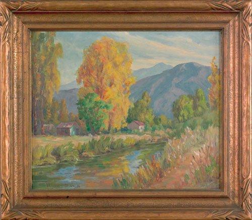 4: William Galen Doss (American, 1873-1957), oil o