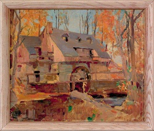 16: Arthur Ernst Becher (American, 1877-1960), oil