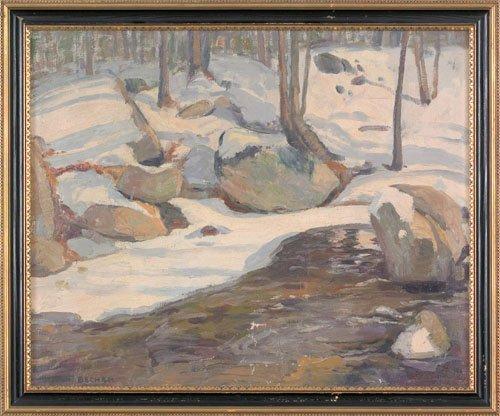 17: Arthur Ernst Becher (American, 1877-1960), oil