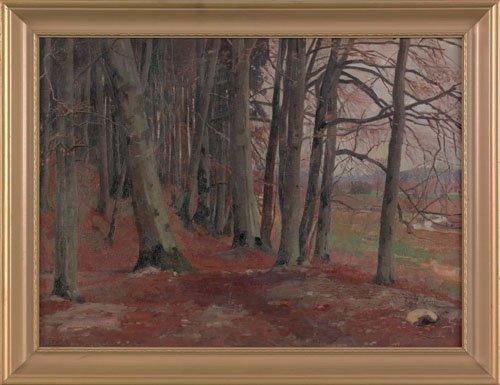 18: Arthur Ernst Becher (American, 1877-1960), oil